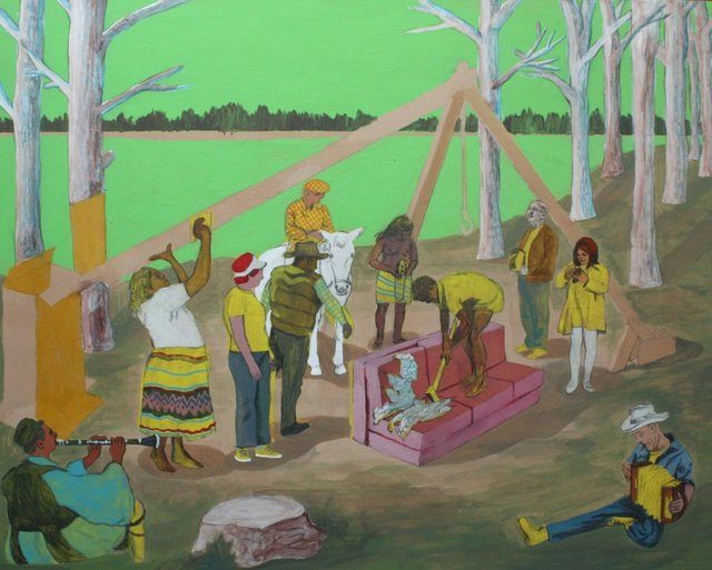 "Matthew Gardiner, ""Lakeside-Ritual-BC,"" 2013"