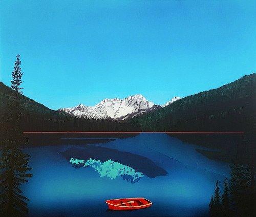 "David Thauberger, ""Rowboat,"" nd"