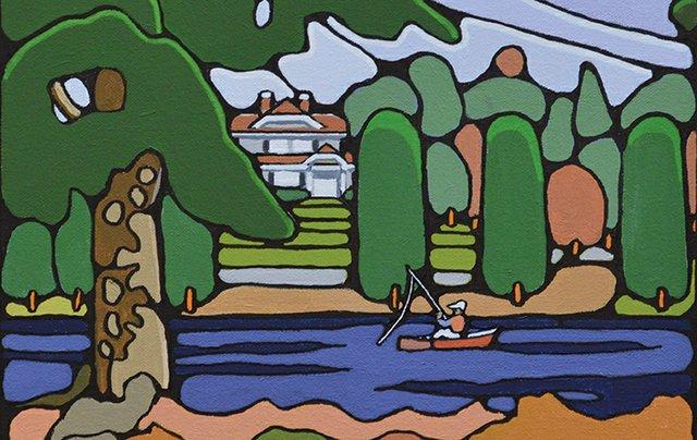 "Ken Dawes, ""Mill Lake Park,"" 2016"