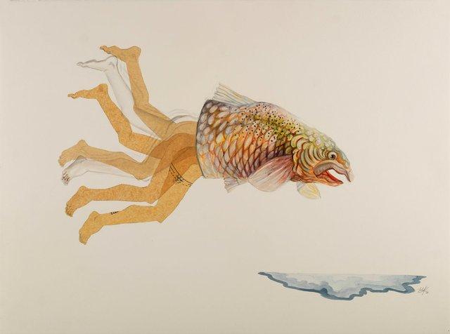 "Pilar Mehlis, ""Ichthyology Cha Cha,"" 2016"