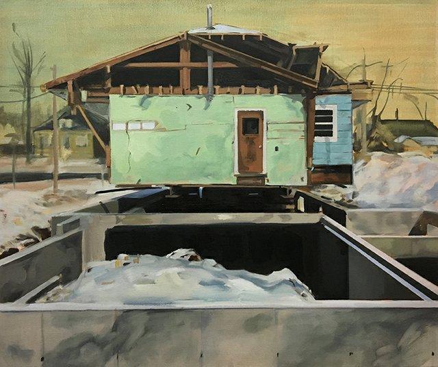 """Andrea Kastner, """"Home Again,"""" 2017"""