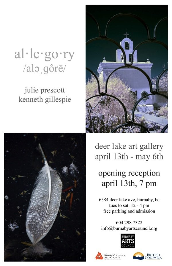 "Julie Prescott and Kenneth Gillespie, ""Allegory Invitation"""