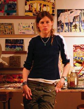 Artist Nancy Lowry