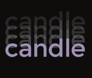 Candle, UBC Master of Fine Arts  Graduate Exhibition 2017 Invitation