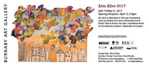 Arts Alive 2017 Invitation