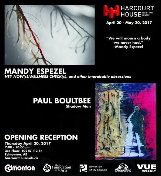 "Mandy Espezel & Paul Boultbee, ""Harcourt house Invitation,"""