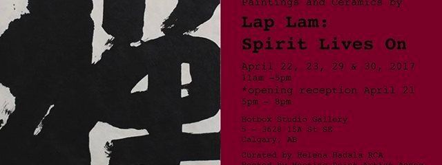 Lap Lam: Spirit Lives On Invitation