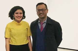 Andi Icaza-Largaespada and Peter Szeto