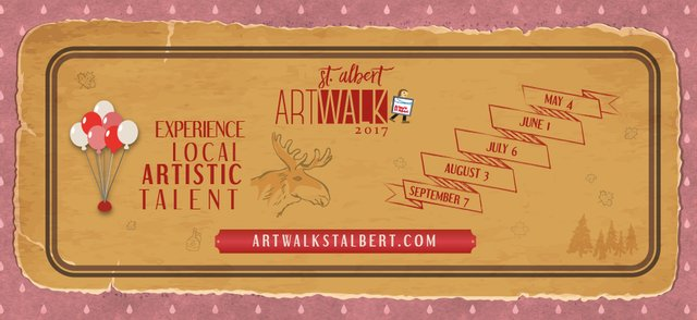 Artwalk St. Albert Banner