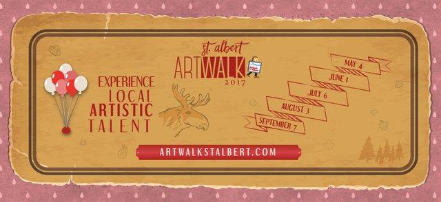 Artwalk St. Albert Banner