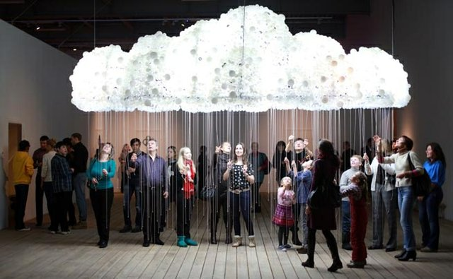 "Caitlind r.c. Brown & Wayne Garrett, ""CLOUD,"" 2013"