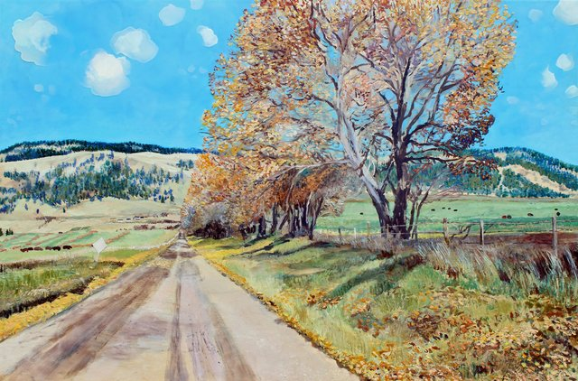 "Heather Cline, ""Backroad Okanagan,"" 2015"