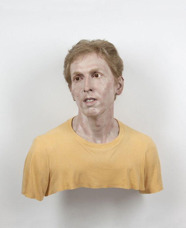"Evan Penny, ""Young Self: Portrait of the Artist as He Was (Not), Variation #4,"" 2011"