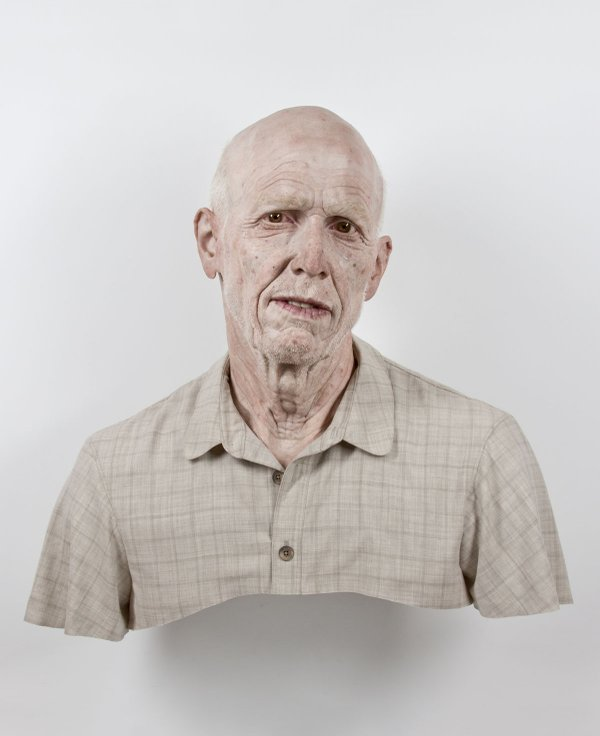 "Evan Penny, ""Old Self: Portrait of the Artist as He Will (Not) Be, Variation #4,"" 2011"
