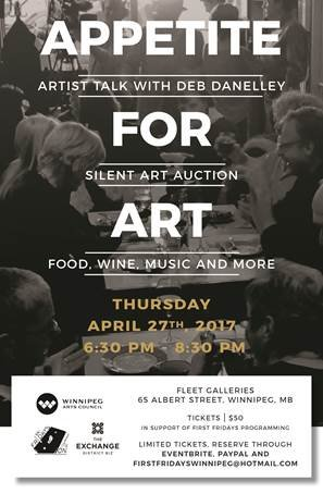 Appetite for Art Event Poster