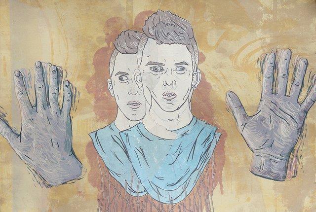 "Kale Vandenbroek, ""The Lie of Saccadic Masking,"" 2016"