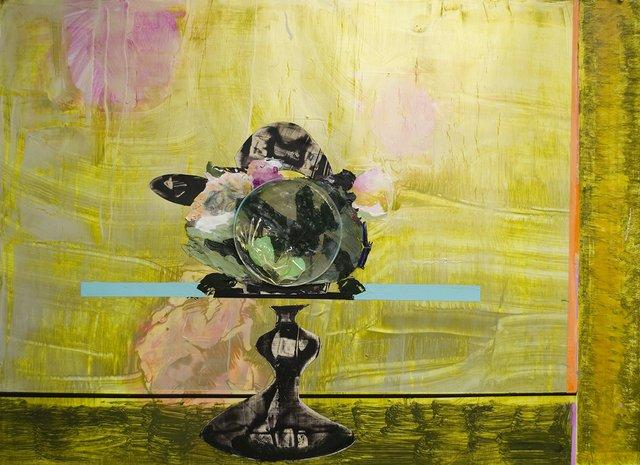 "George Glenn, ""Pedestal Plate #3,"" 2016"