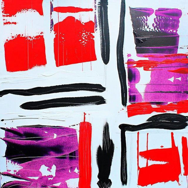 """Kellie Hampton """"Impetus Series No.4,"""" n d"""