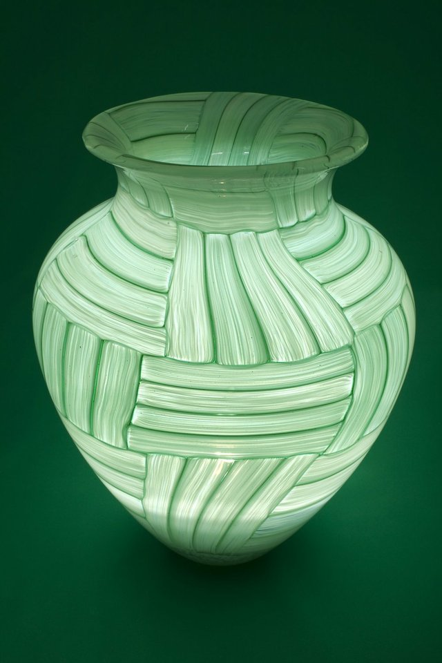 "Barry Fairbairn, ""Glass Vessel,"" nd"