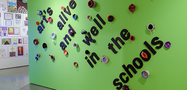 Art's Alive and Well in the Schools, Installation Wall