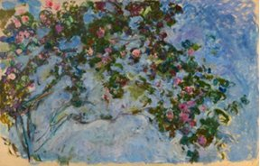 "Claude Monet, ""Les Roses,"" 1925-26"