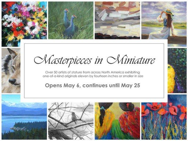 Masterpieces in Miniature 2017, Invitation