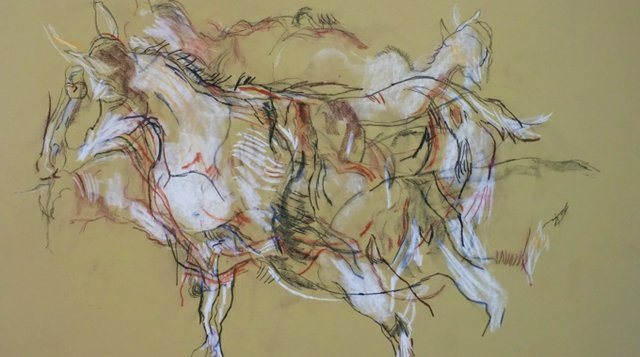 "Kipling, Ann, ""Goat Drawing,"" 1980"