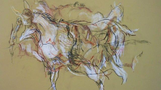 "Kipling, Ann, ""Goat Drawing,"" 1980"