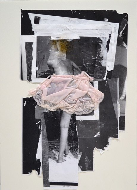 "Angela Grossmann, ""Pink Slip,"" nd"