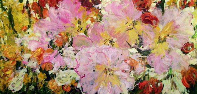 """Valerie Butters, """"Une fille, c'est une fleur,"""" 2016"""