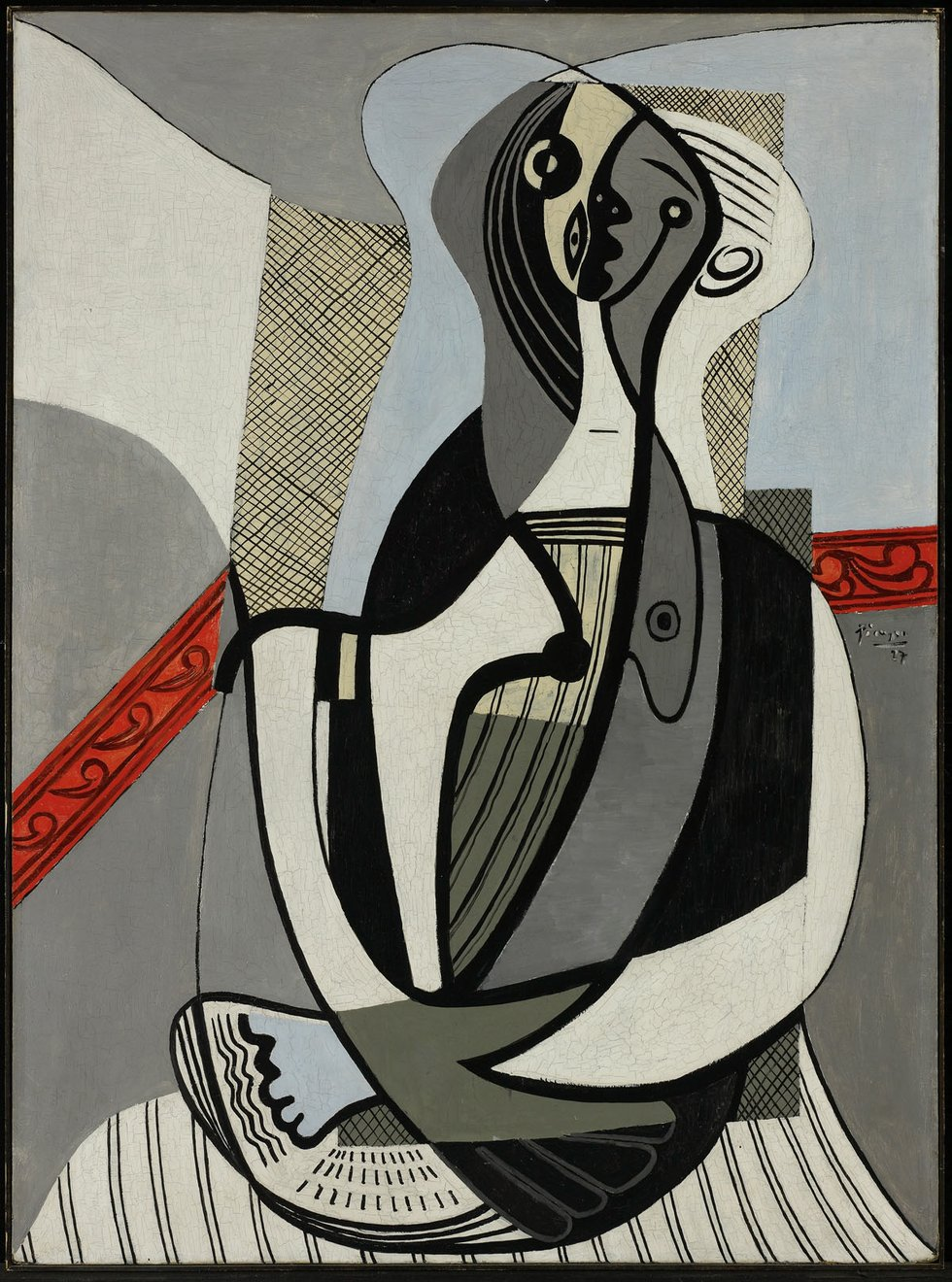 """Pablo Picasso, """"Femme assise,"""" 1927"""