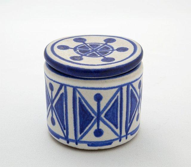 "Helga Grove, ""Jar with Lid,"" 1970"